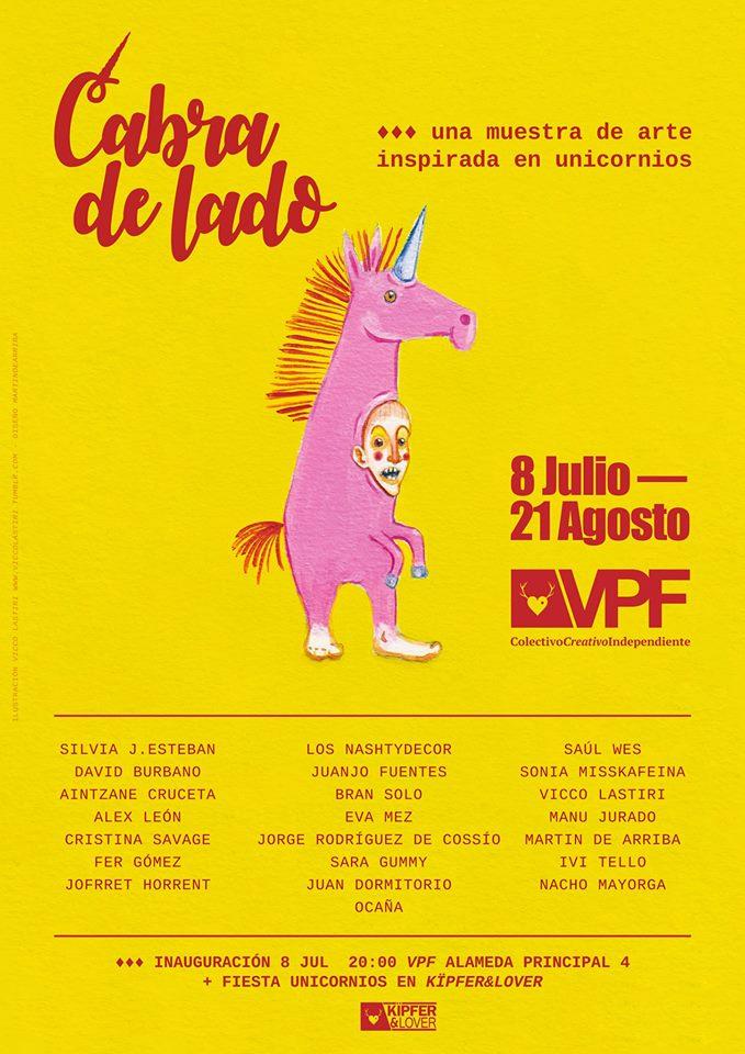 """08-07-2017 – """"Cabra de lado"""" @ VillaPuchero Factory, Málaga"""