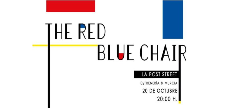 "20-10-2017 – ""The Red Blue Chair"" @ La Post Street, Murcia"