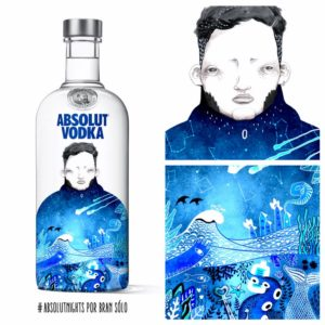 Absolut Vodka by Bran Sólo