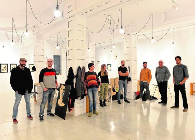 23-03-2018 – Illustration Show @ Arquitectura de Barrio, Murcia