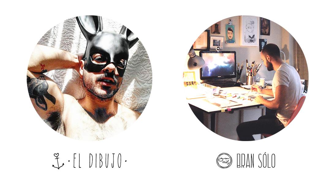 Daniel José Cabrera El Dibujo y Bran Sólo